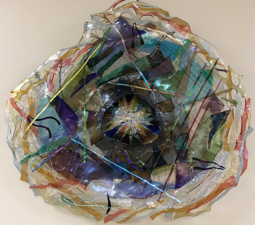Lisa Chernoff: Bloom - Fused Glass