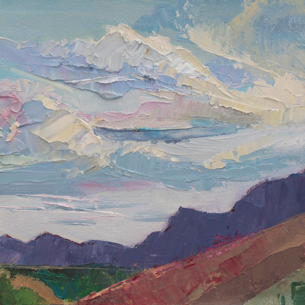 Carla Forrest: Cerrillos Sunset