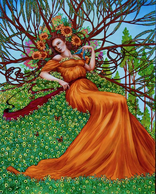 George H Hayes III: Clara's Flowers