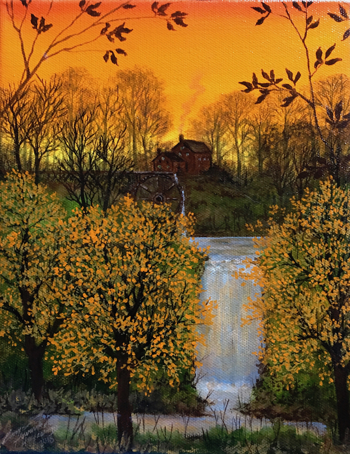 Orange Sunset Mill 300dpi