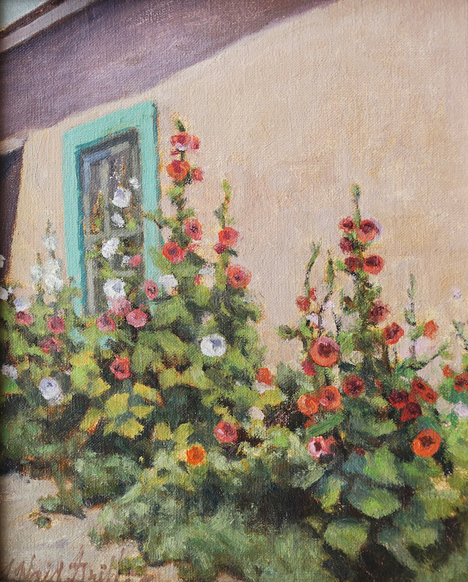 J. Waid Griffin: Paul's Hollyhocks