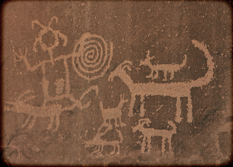 Joan Fenicle: Petroglyphs at Una Vida