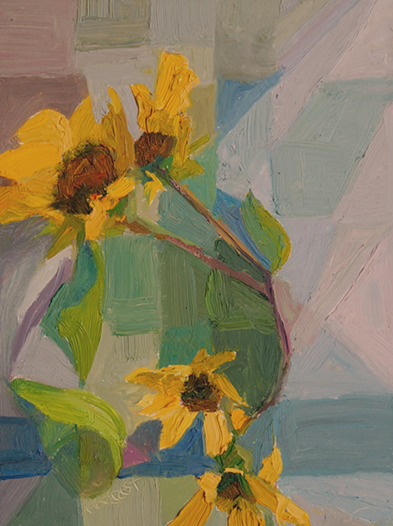 Carla Forrest: Taos Sunflowers