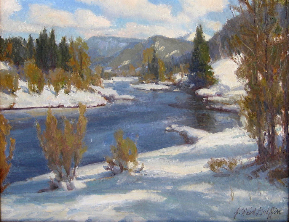 J. Waid Griffin: Winter on the Conejos