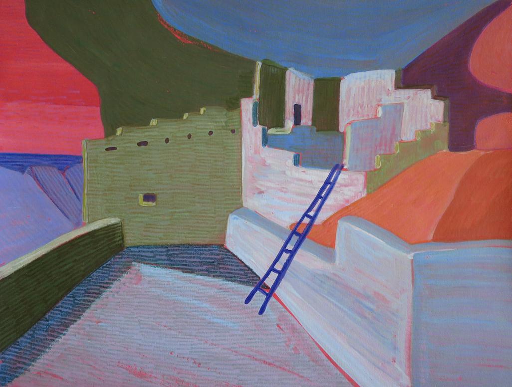 Carol Chamberland: Balcony House #10