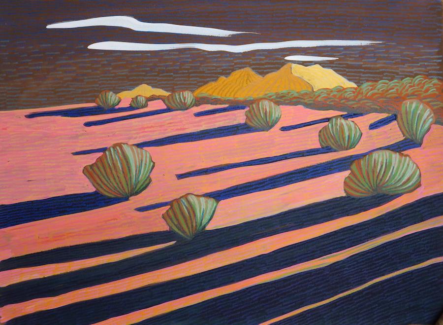 Carol Chamberland: Ladron Sunset #3