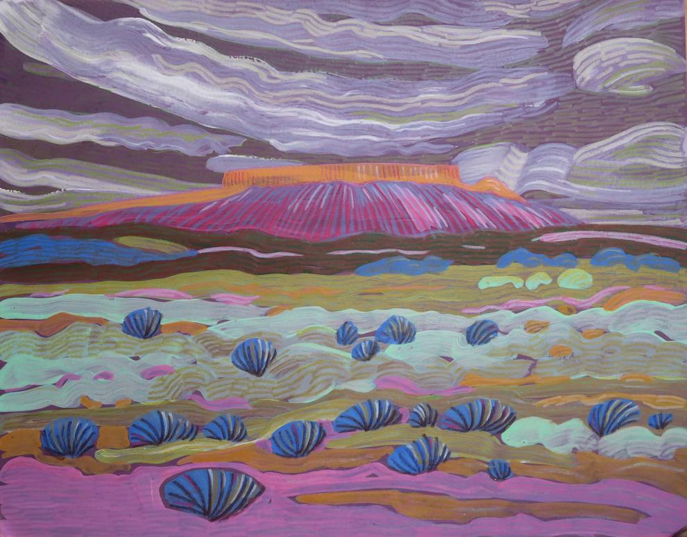 Carol Chamberland: Ojito Wilderness #2