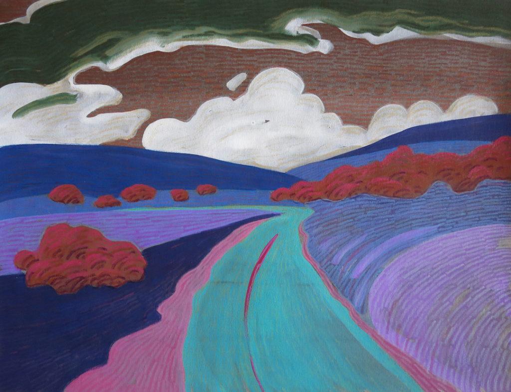 Carol Chamberland: Wetherill Road #9