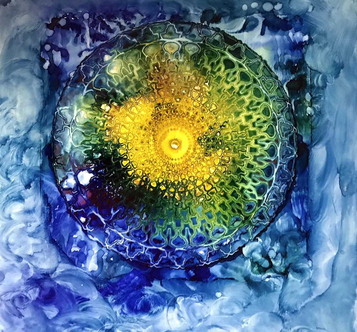 Kate Palmo: Blue Mandala