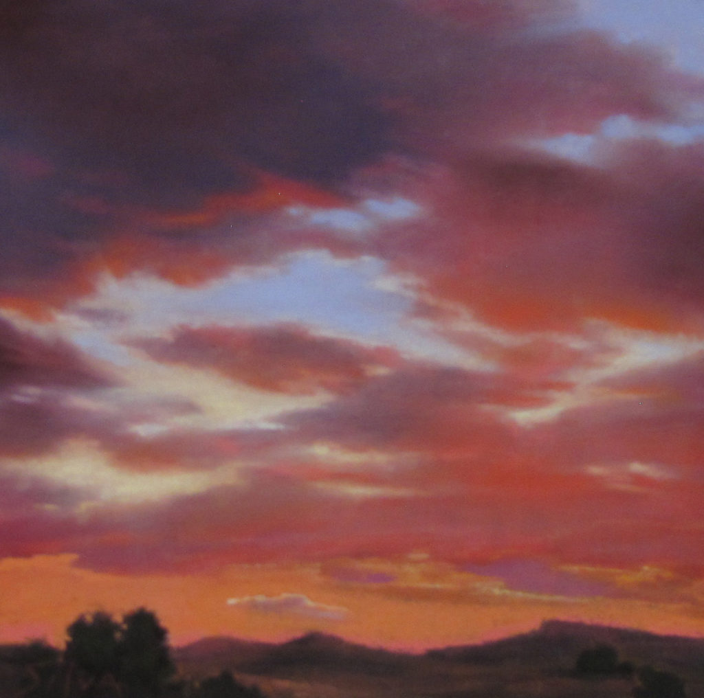 Nancy Silvia: Blazing Sky