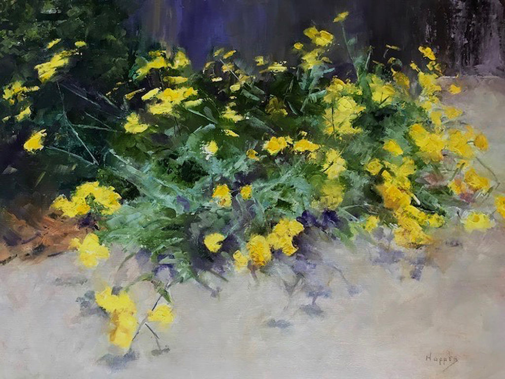 Carol Hopper: Bursts of Yellow