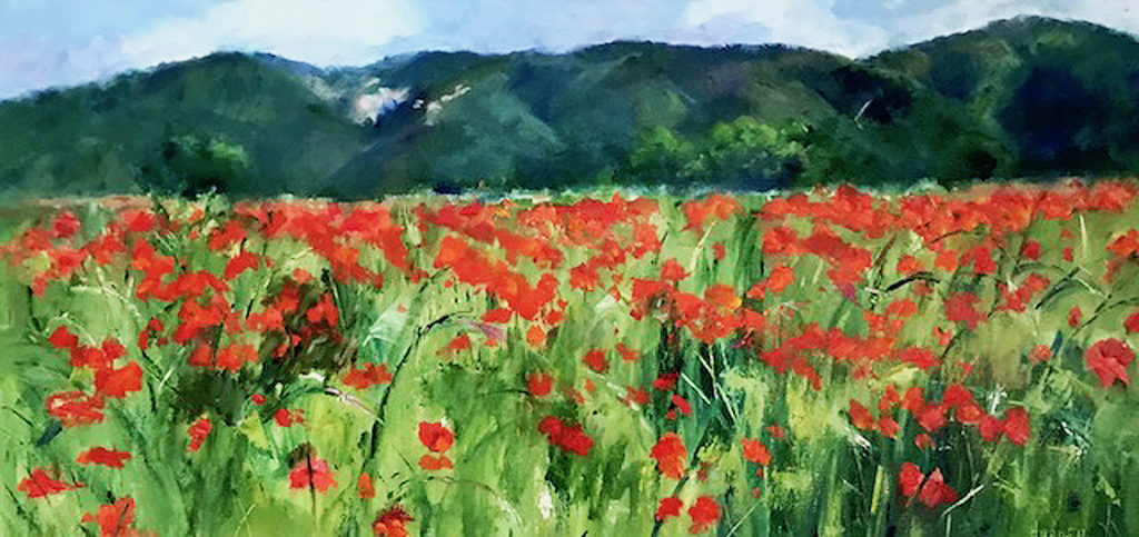 Carol Hopper: French Poppy Field