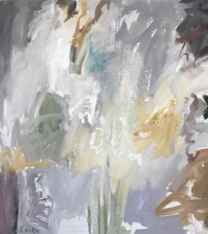Linsay Locke: Grey Bouquet