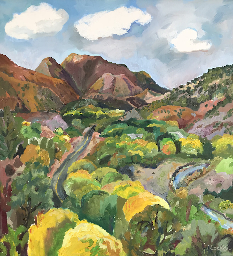 Linsay Locke: Jemez Valley Autumn