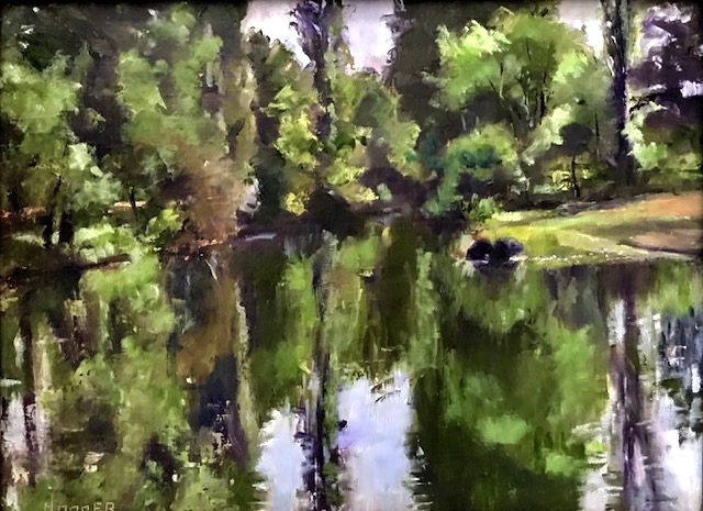 Carol Hopper: Lake Reflections