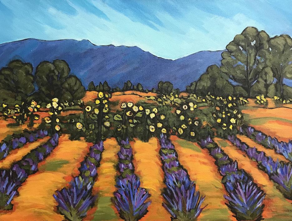 Risa Taylor: Los Poblanos Fields