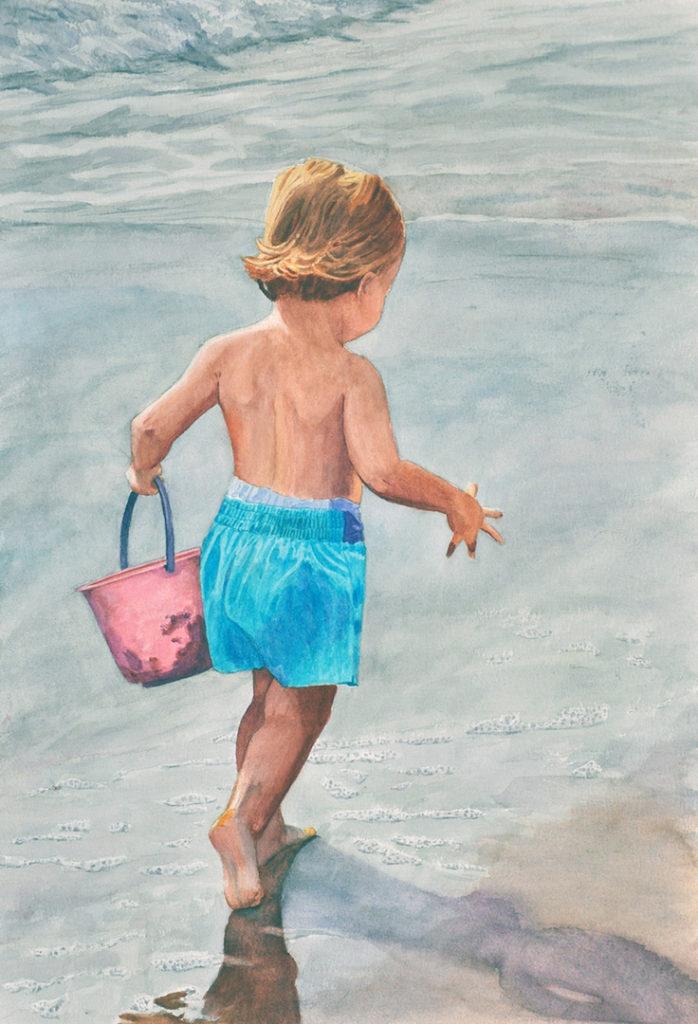 Fran Krukar: Pink Bucket