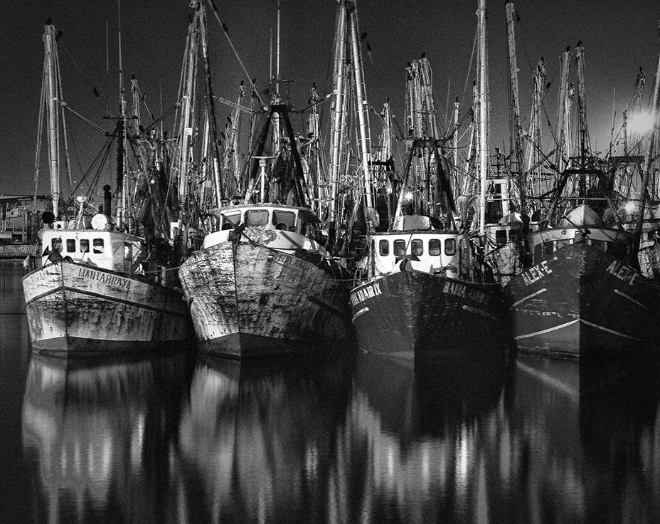 Jean-Paul de Jager: Puerto Peñasco Fishing Fleet