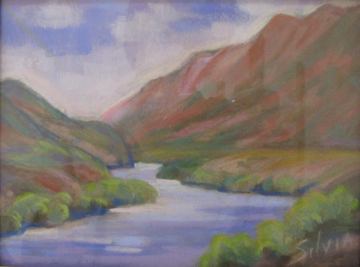 Nancy Silvia: Rio Grande Springtime