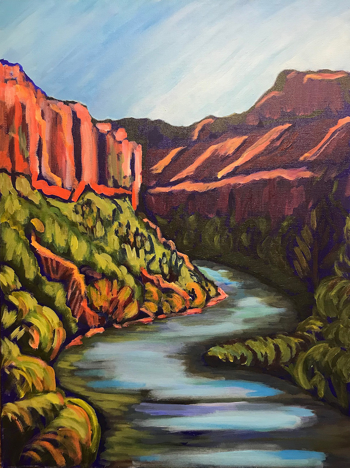 Risa Taylor: River Gorge