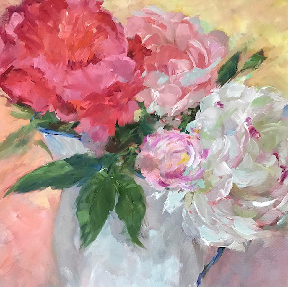 Carol Hopper: Shock of Peonies