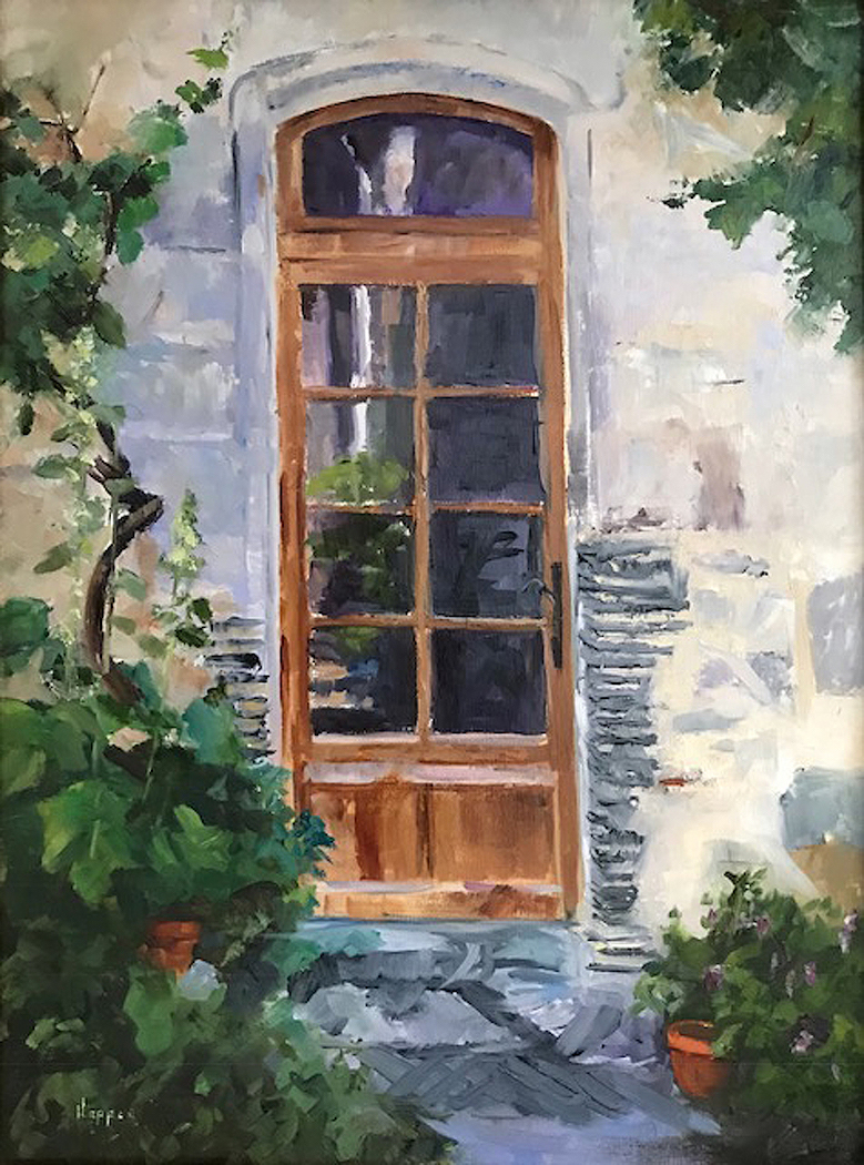 Carol Hopper: The Glass Door