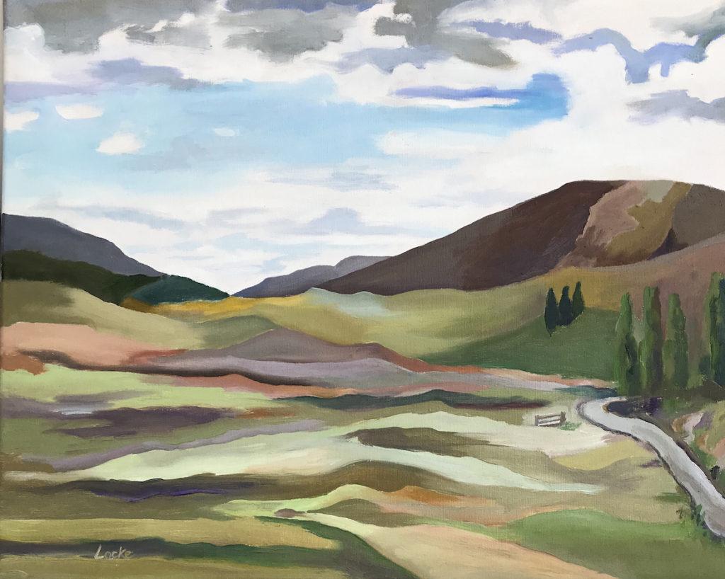 Linsay Locke: Valle Caldera
