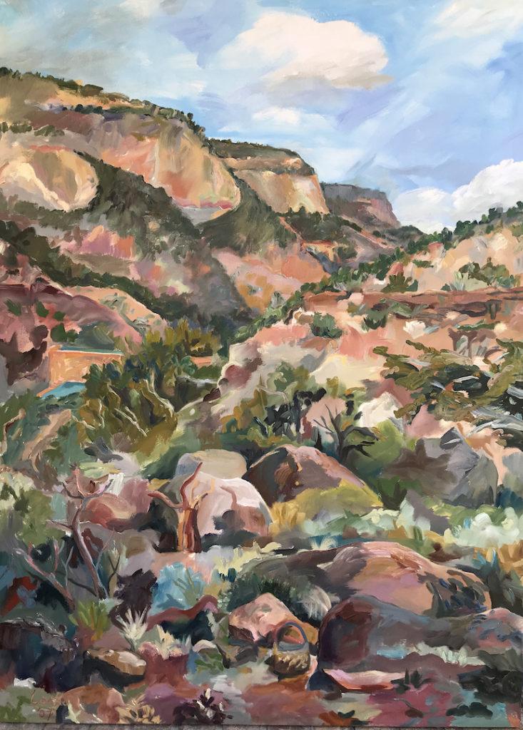 Linsay Locke: Virgin Mesa from my Kitche