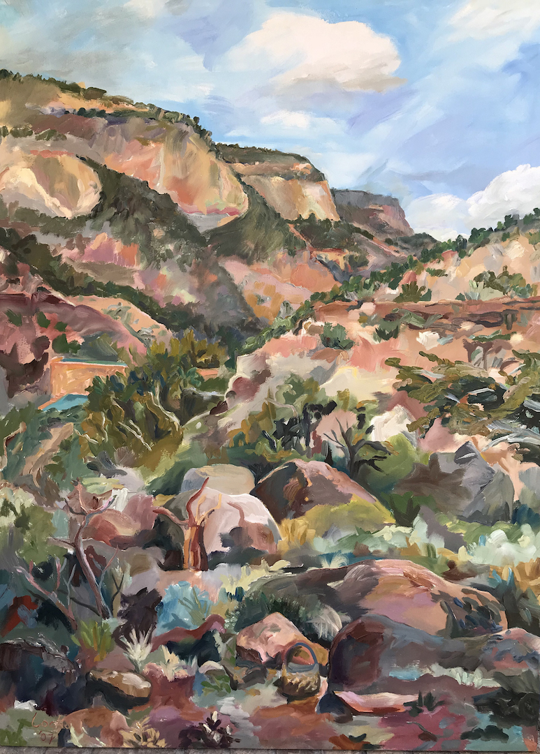 Linsay Locke: Virgin Mesa from my Kitche