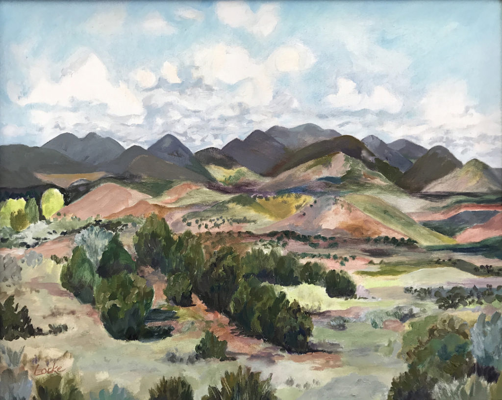 Linsay Locke: Where the Plains meet the Mountains