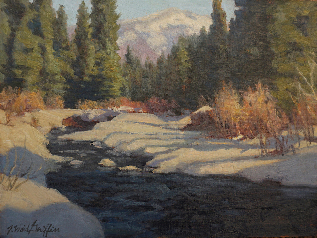 J. Waid Griffin: Aspen Creek Winter