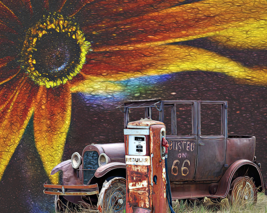 Amy M. Ditto: Busted on Route 66