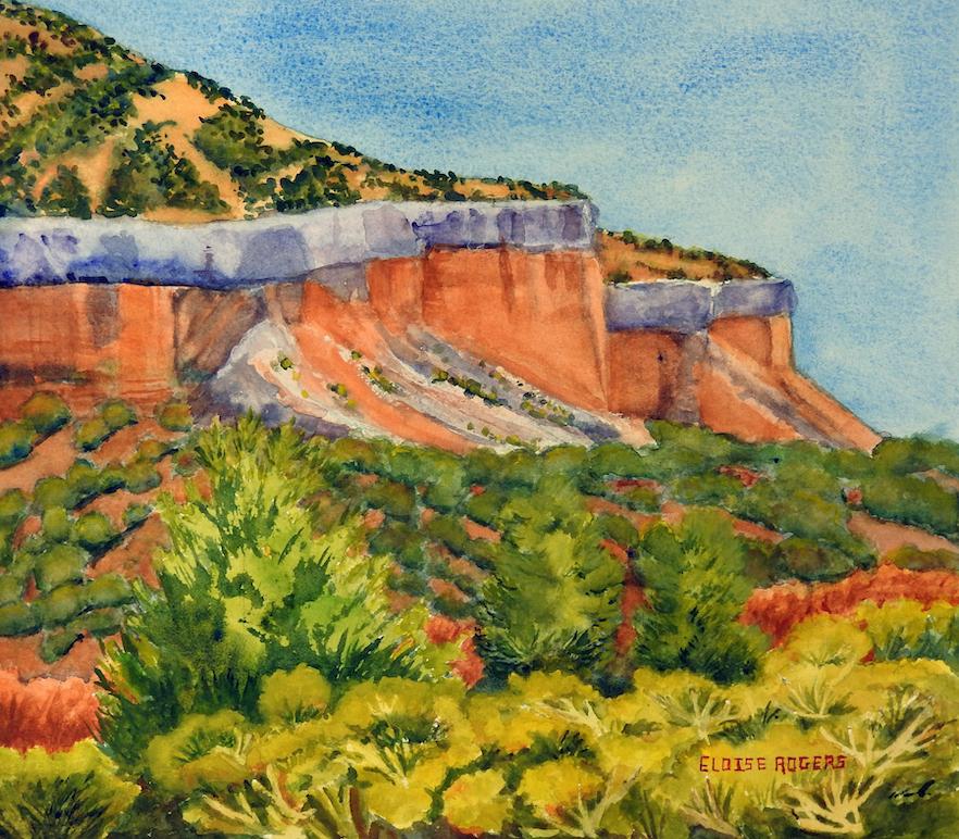 Eloise Rogers: Colorful Cliffs