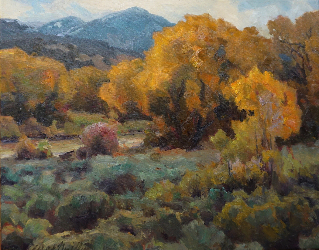 J. Waid Griffin: Costilla Creek Cottonwoods
