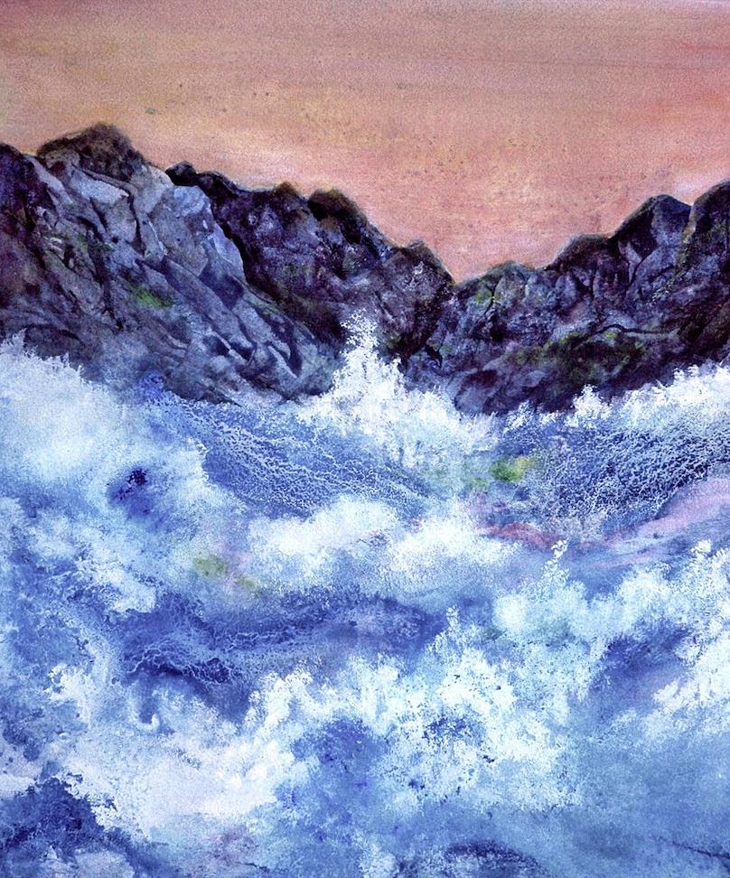 Ming Franz: Crashing Waves