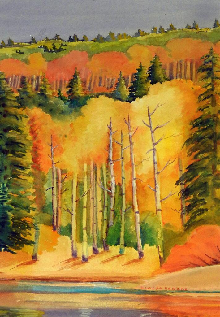 Eloise Rogers: Fall Aspen
