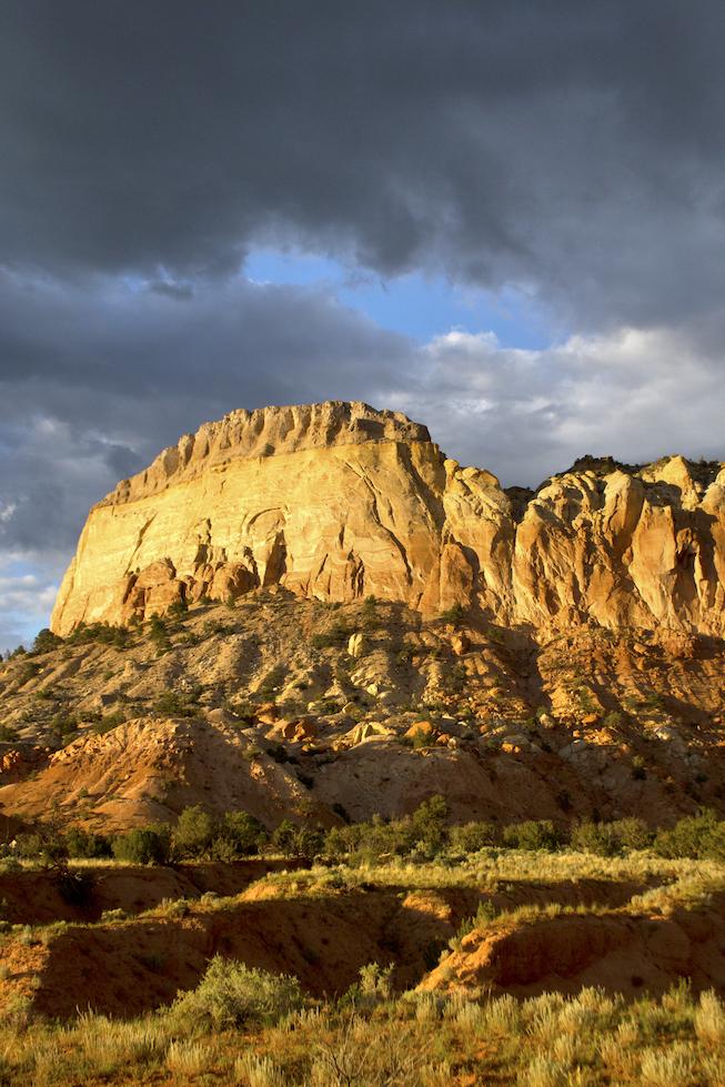 Jeri Burzin: Ghost Ranch Cliffs
