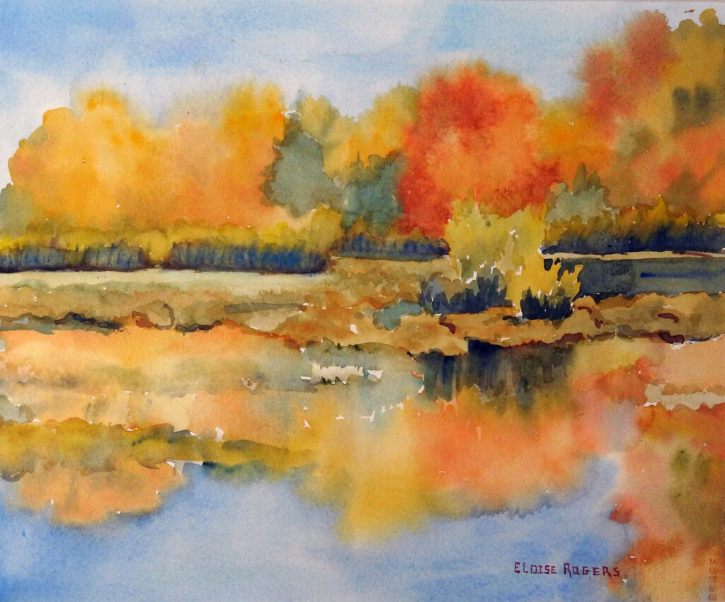 Eloise Rogers: Golden Reflections