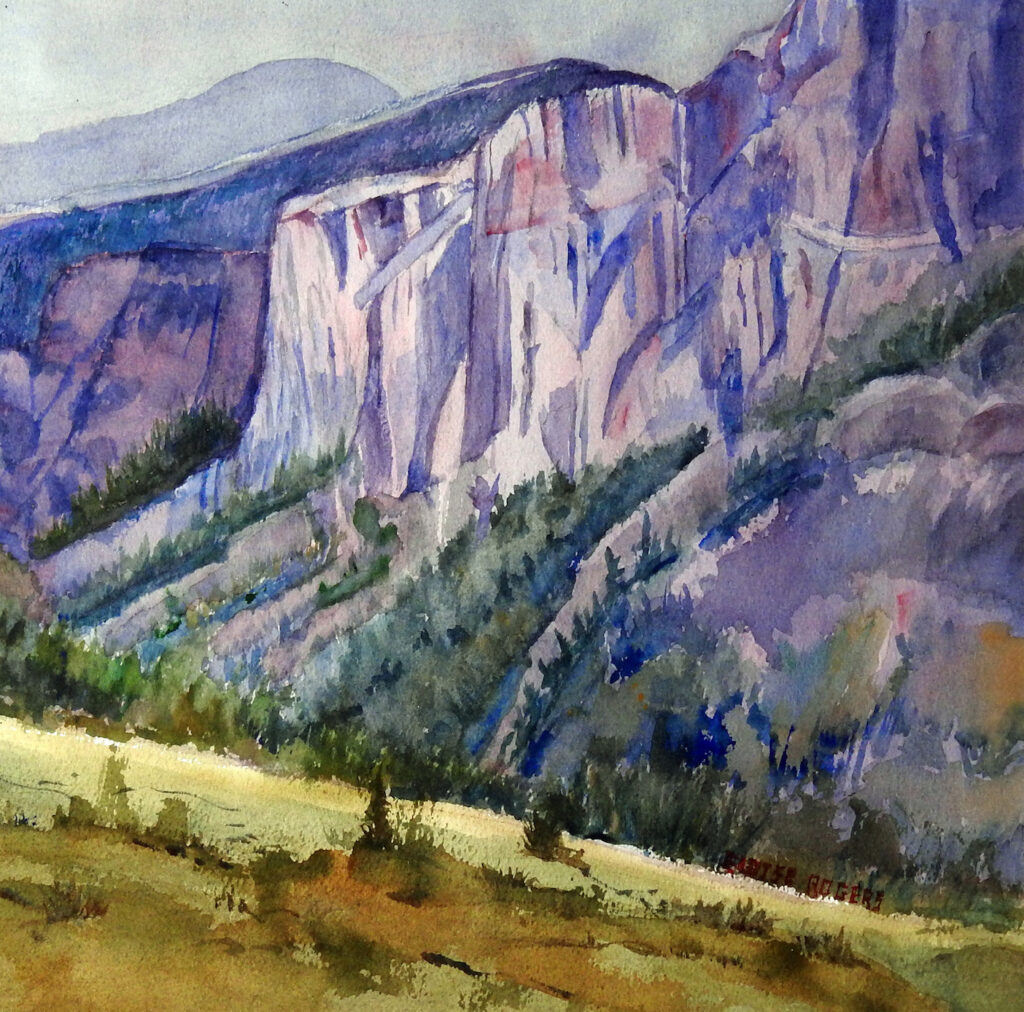 Eloise Rogers: Jagged Cliffs