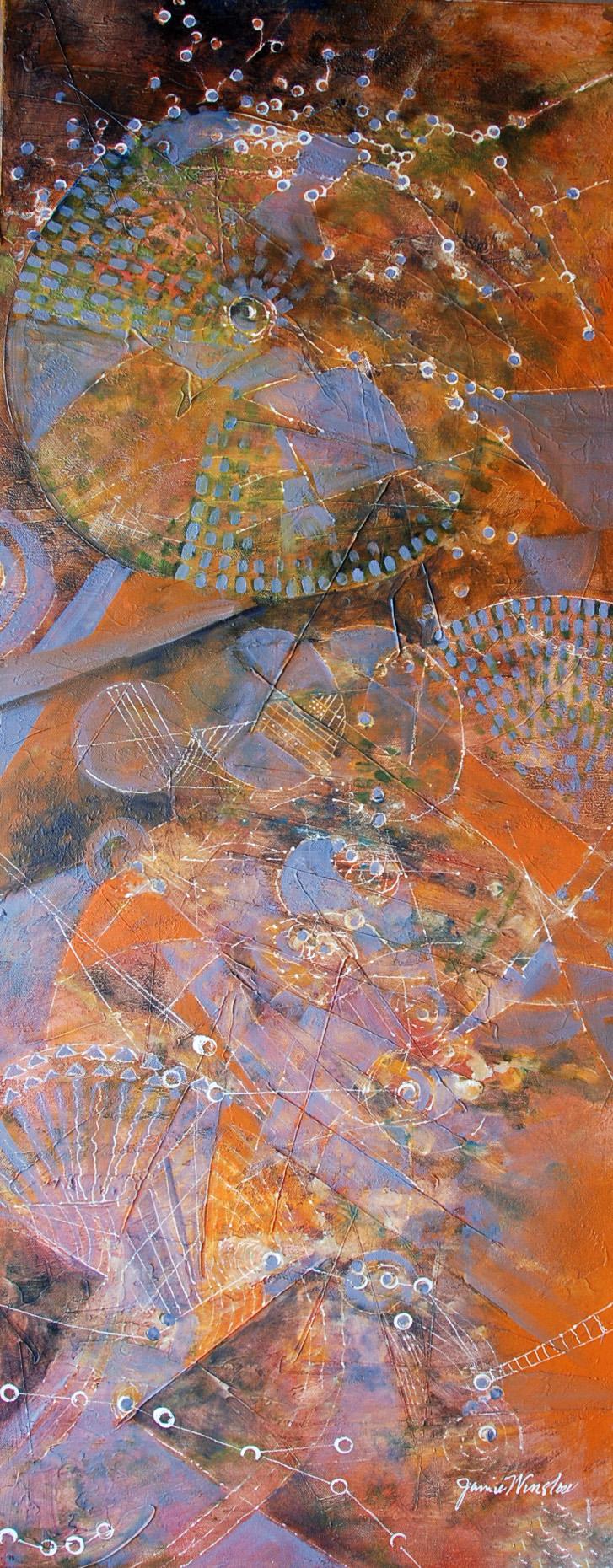 Jamie Winslow: Lavendar and Orange