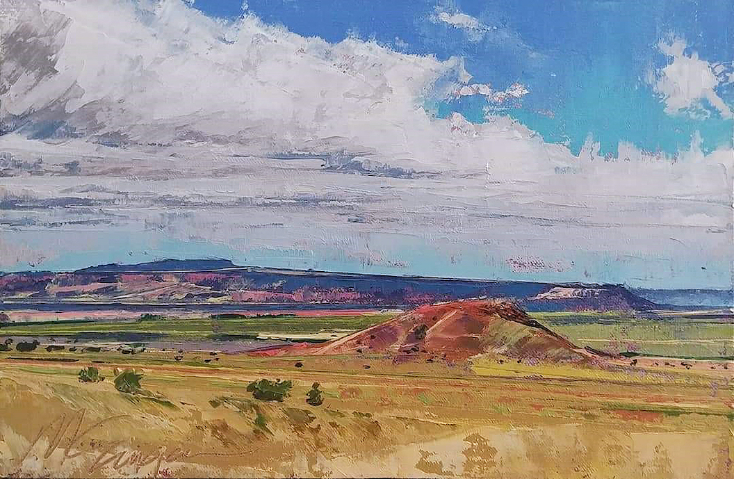 Monty Singer: Monsoon Morning Mesa