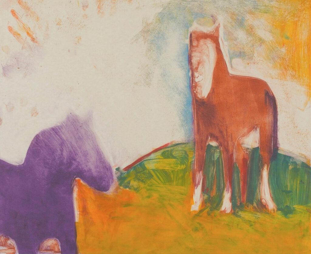 Phil Garrett: Nikko/Horse Variation IX