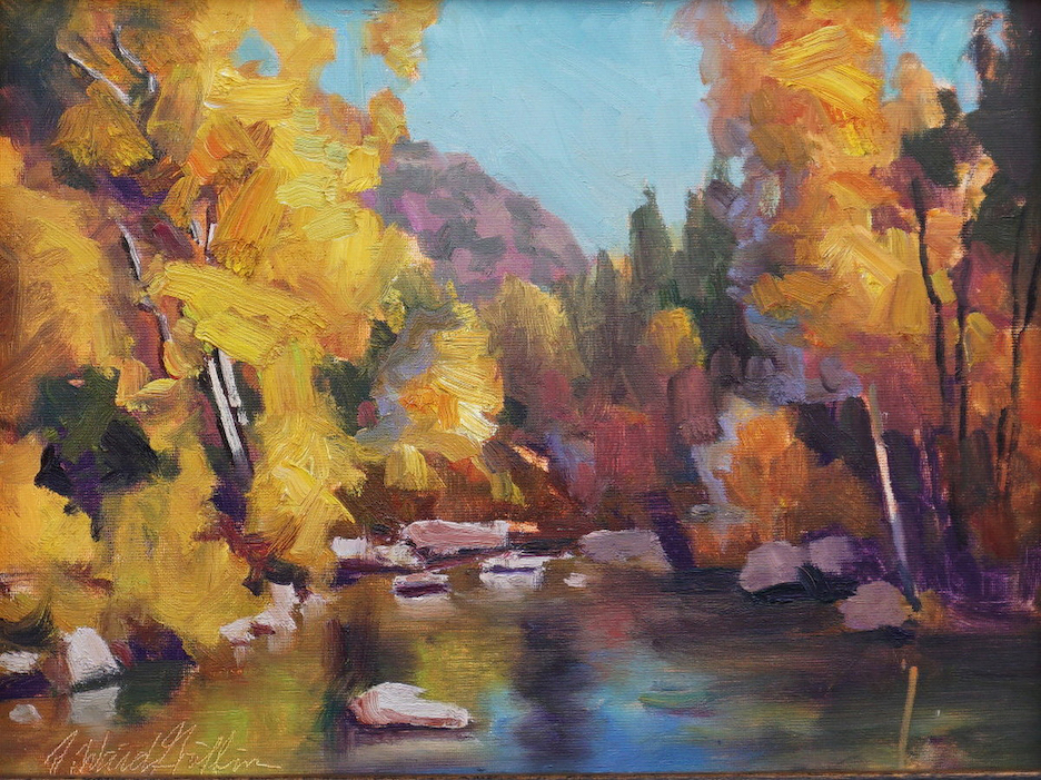 J. Waid Griffin: Oak Creek Autumn
