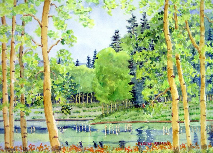 Eloise Rogers: Spring Reflections