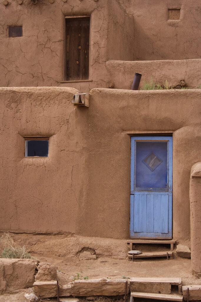 Jeri Burzin: Taos Pueblo Door