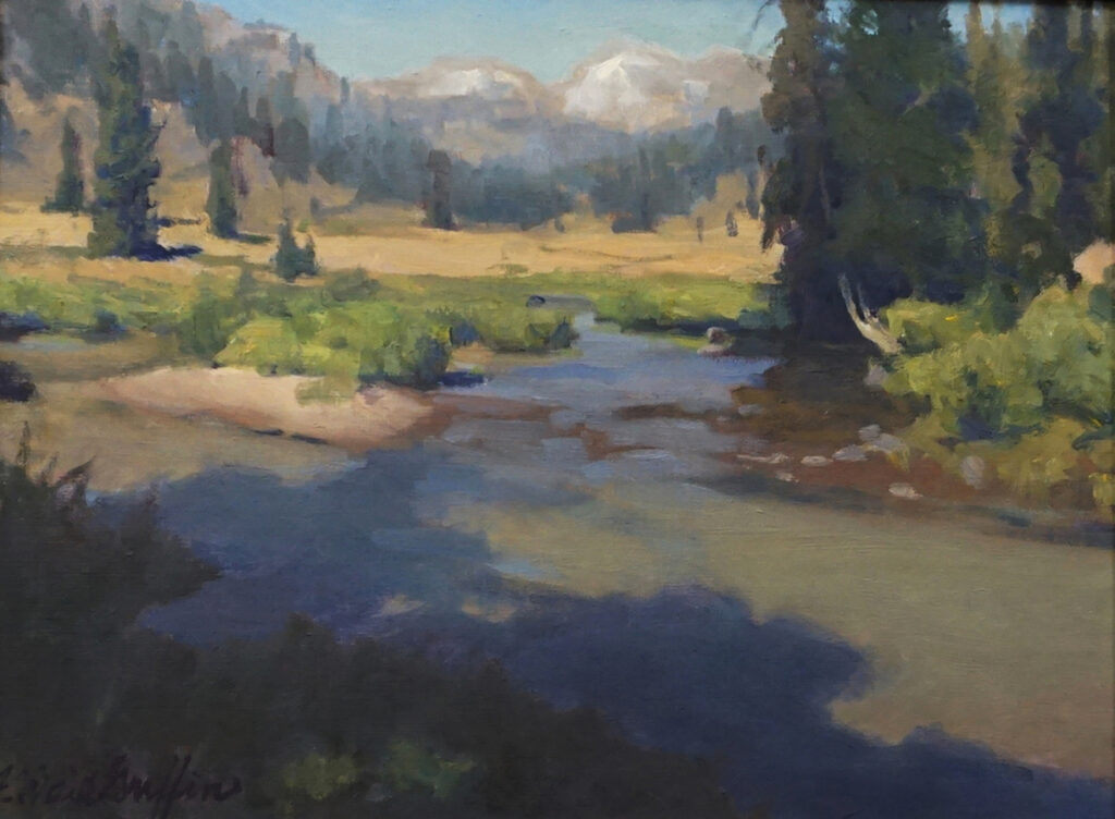 J. Waid Griffin: View Up the East Fork