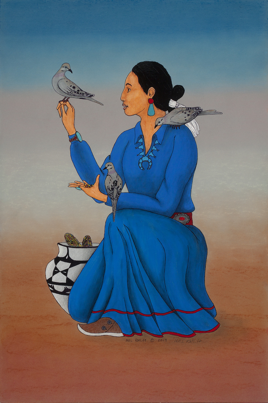 Mel Ratliff: Bird Woman