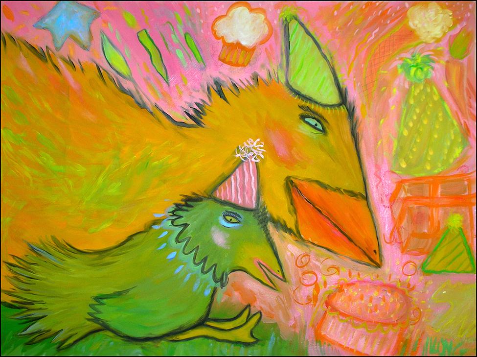 Lesley Long: Birthday Birdies