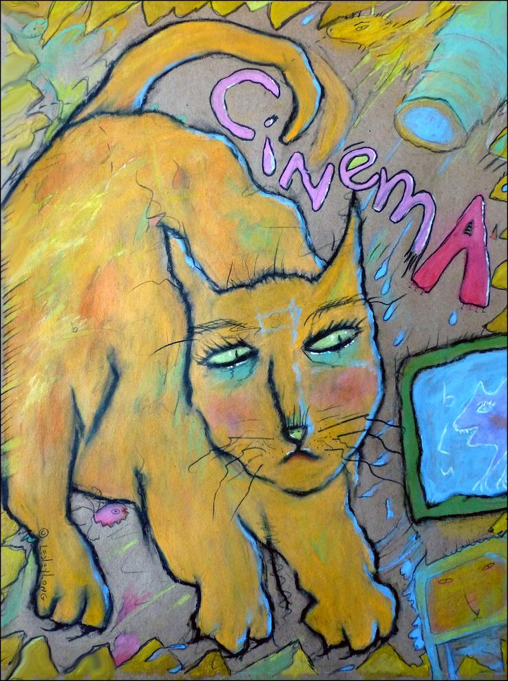 Lesley Long: Cinema Cat