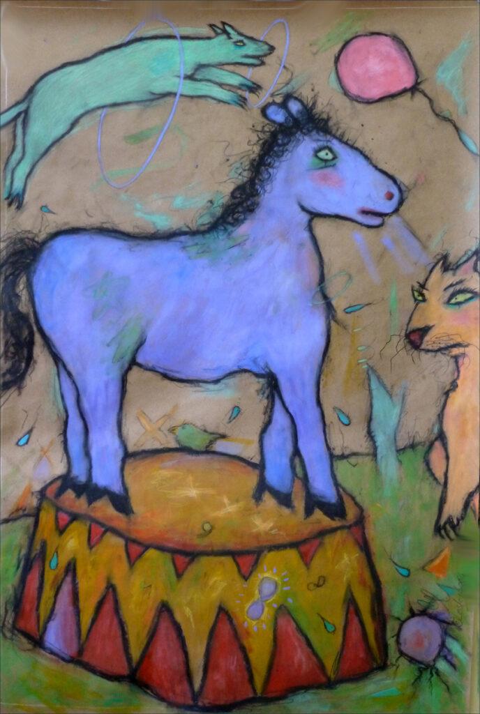 Lesley Long: Circus Horse